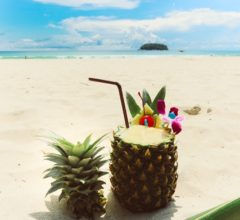 Pina Colada… perfect anytime of the day! Cheers